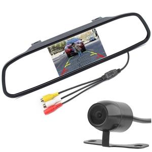 4.3inch mirror 16.5mm camera