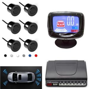 6 sensors LCD